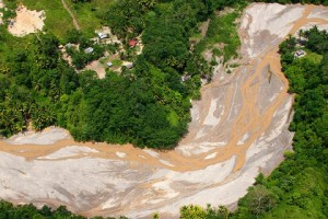 Gold mine run-off, Mindanao
