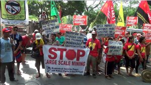 Lumad protesters in Mindanao