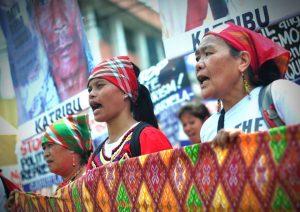Lumad protesters, Mindanao